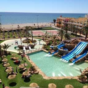 parque acuático evenia zoraida beach resort