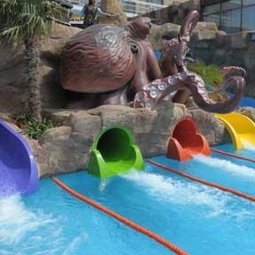 parque acuático Evenia Olympic Resort
