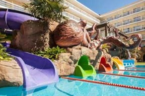water park hotels in Costa Brava