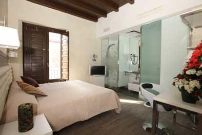 hotel romantique Madrid