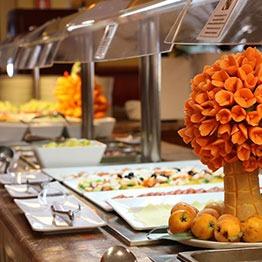 Restaurantes buffet evenia zoraida beach resort