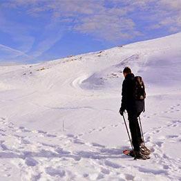 raquetas de nieve evenia monte alba benasque